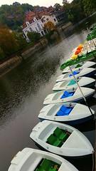 End of the season (eagle1effi) Tags: boat boot mrkle tbingen bootsverleih neckar evangelische musikhochschule s5