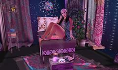 Bohemian Nights (Elena Amina Aristotle (Rachel Acoustic)) Tags: fabia mesh hair delirium style essences skin monomania slipper originals adorably strange wares the boho culture fair 5 tbcf5 gachas gifts