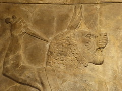 Lion Demon (Aidan McRae Thomson) Tags: nineveh assyrian relief sculpture ancient mesopotamia britishmuseum london