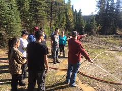 First Nations youth for jobs training in the Cariboo (BC Gov Photos) Tags: aboriginal youth indigenous training jobs skill forestry trades skills cooks employment cariboo oakes quesnel first nations bc gov government british columbia