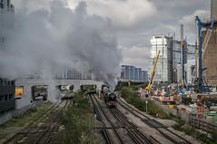 60163 - 5Y82 - Battersea Loop - 22.10.2016 (Tom Watson 70013) Tags: classa1 60163 tornado steam train engine railway 1y82 london victoria 5y82 battersea park loop belmond british pullman lner railways