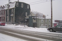 St. John's, Queens Rd, Driving Snow (Joseph Topping) Tags: newfoundland canada winter