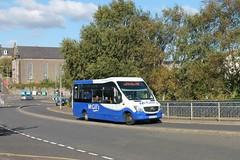 McGill's - DK66 OJW (G0101) (MSE062) Tags: mellor strata bodied mercedesbenz 0101 g0101 dk66ojw dk66 ojw greenock single decker bus scotland low floor midi mini