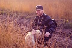 (shinebrightx) Tags: thenetherlands paisesbaixos holanda landscape nature autumn fall people ginger redhead redhair ruivo ruiva dog cute