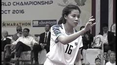 ไทย vs เวียดนาม เซปักตะกร้อชิงถ้วยพระราชทานคิงส์คัพ นัดชิงทีมBหญิง 1/2 22 ตุลาคม 2559 ครั้งที่ 31 - YouTube