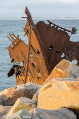 Adolphe (Japester68) Tags: stone rock 4star sunset shipwreck metal red club rust outdoor brown evening breakwater nsw orange wreck ship country ocean vessel boat vehicle barrier sea trip boulder jetty coast iwps walk stockton australia aus