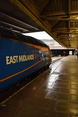 Nottingham (DarloRich2009) Tags: eastmidlandstrains emt stagecoachgroup stagecoach class43 hst highspeedtrain 43061the fearless foxesnottinghamnottingham stationnottinghamshirenottingham railway station
