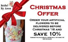 Christmas offer  (bridalbyanna) Tags: bridal bouquet wedding marriage flowers