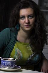(Stefano Iacono) Tags: ritratto eyes blue tea people lady