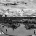 Cusco - Plaza de Armas Baixo as Boiras