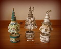 alberelli di natale (Helenadea) Tags: decor natale alberello tree christmas