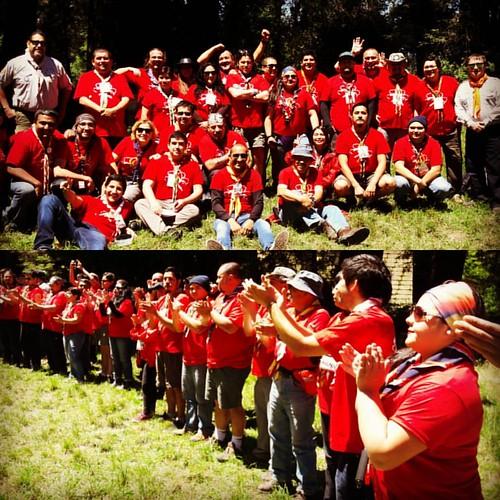 Con una emotiva sensación de agradecimiento por la experiecia vivida,  exito para cada uno de los participantes, es el comienzo de una gran proceso... #caminantes  #roverscout #guiasyscoutdechile #scoutiar #construirunmundomejor