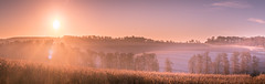 Wiltshire Sunrise, near Ramsbury (SimonBaker5) Tags: frost morning fields ramsbury rural countryside sunrise wiltshire