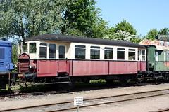 VVM: Triebwagen T 24 in Schönberger Strand (Helgoland01) Tags: eisenbahn triebwagen schönberg