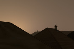 Horizon (victor.micoud) Tags: rooftop horizon suburbs suburbia house night sky light abstract housing urban architecture urbanism minimal minimalism paris banlieue marne la vallee disneyland bussy saint georges