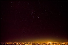 Orion Over Brussels (mikeyp2000) Tags: stars a99ii astrophotograph space astrophotography aerial orion