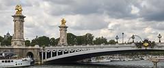 Navegando por el Sena 2 (CarlosJ.R) Tags: francia pars puente puentedealejandro sena