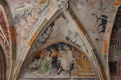 Neustift 19 (WR1965) Tags: italien sdtirol altoadige autonomeprovinzbozen neustift stiftneustift klosterneustift chorherren augustiner kreuzgang deckenfresko fesko michael pacher sptgotik