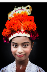 Bali (mokyphotography) Tags: indonesia bali ubud danza dance ritratto portraits people persone viso face eyes girl ragazza