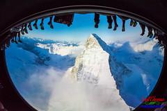 Soarin' Over the Matterhorn (Scottwdw) Tags: soarin orlando futureworld nikon fisheye alps theland waltdisneyworld vacation florida sigma15mm travel epcot d750 wideopen europe matterhorn mountain unitedstatesofamerica 840