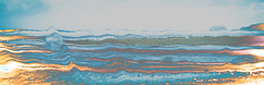 The Beach (judy dean) Tags: cornwall porthleven sea beach waves windscreen windshield rain marbled lr abstract
