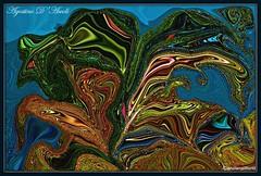 Le foglie colorate - Novembre-2016 (agostinodascoli) Tags: art agostinodascoli piante photoshop photopainting digitalart digitalpainting digitalgraph foglie cianciana sicilia colore fullcolor nature texture