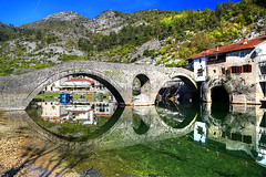 Crnojevica Bridge (hapulcu) Tags: crnojevica river skadar shkodra montenegro adriatic autumn bridge balkan