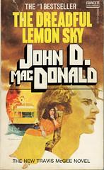 Novel-The-Dreadful-Lemon-Sky-by-John-D-MacDonald (Count_Strad) Tags: johndmacdonald mystery novel softcover artworkart