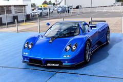Zoooooonda (Reece Garside | Photography) Tags: pagani zonda c12 zondac12 c12s italian supercar summer spotter sun silverstone car canon canon6d 6d hypercar history rare blue blancpain