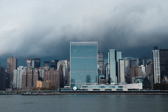 Before the storm (john.gillespie) Tags: nyc storm new york cityscape un ny long island city piers united nations headquarters unhq clouds sky autumn manhattan rain metropolitan museum vsco longislandcity longislandcitypiers metropolitanmuseum newyork unitednationsheadquartersunhq unitednations