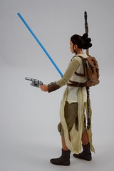 Star Wars Elite Series Rey Premium Action Figure - Disney Store Purchase - Deboxed - Freestanding - Full Right Rear View (drj1828) Tags: starwars theforceawakens rey figure actionfigure purchase disneystore eliteseries premium posable 10inch deboxed freestanding