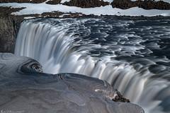Edge and Flow (Bill Bowman) Tags: dettifoss jkulsfjllumriver iceland sland dirtysnow