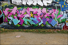 Crept (Alex Ellison) Tags: crept cbm trellicktower westlondon urban graffiti graff boobs halloffame hof