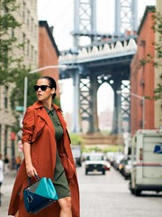 Windy Trench (betrenchcoated) Tags: trenchcoat trench windy wind blowing flying beautifulgirl raincoat red