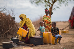 Sakin Mohammed, 52 a mother of 8,  resides in Jigjiga, Jila Alu Kebele. She used to travel for eight hours daily to get 4 jerry cans of water. (UNICEF Ethiopia) Tags: emergencies jigjiga unicef water drought naturaldisaster wash watersupply waterandsanitation wateraccess