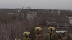 GOV42844 (avgusew) Tags: chernobyl disaster plant nuclear object power arch shelter reactor sarcophagus energy landscape view building construction air photo over station safe explosion aerial infrastructure fourth ukrainian atomic catastrophe tragedy pant confinement anniversary april ukraine kiev 2016 radiation radioactive