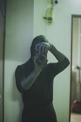 Cat Burlgar 3 (CatBurglar Vn) Tags: cat burglar masked glove blaclava robber