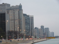 Lake Shore Drive beach (cohodas208c) Tags: tallbuildings skyline chicago grayday downtown
