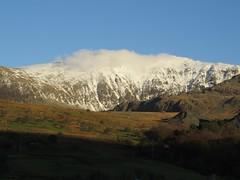6185 Yr Wyddfa from the Rydd Ddu road (Andy - Busyyyyyyyyy) Tags: 20161124 eryri mmm mountain mtsnowdon snow snowdonia sss yrwyddfa