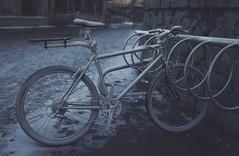 Freezer Burn (charhedman) Tags: whistler bicycle cold snow frosty n bikerack