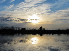 Sundown at St Johns River (npbiffar) Tags: outdoor sky cloud landscape water river st johns marsh npbiffar canon s90 camera