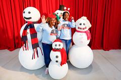 (Columbus State) Tags: snowmen fun winterfest holidays csu
