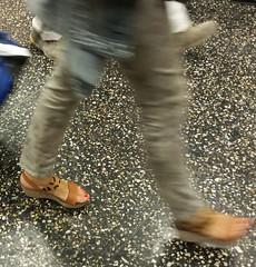 Street feet (310) (I Love Feet & Shoes) Tags: street sexy feet stockings pie shoes highheels sandals tights lingerie heels ps huf hoof bas pieds mules pantyhose schuhe casco piedi meias medias scarpe sandalias chaussures sapatos sandlias zapatillas sandalen  sandales  sabot sandali  strmpfe    calcanhares  fse