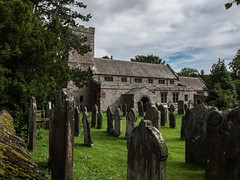 Church in Caldbeck (velodenz) Tags: birthday uk england church club digital photography cycling cyclists photo image britain united great picture kingdom pic photograph gb fujifilm rides phot touring ctc x30 penrith 2015 caldbeck cyclisme velodenz 20150824