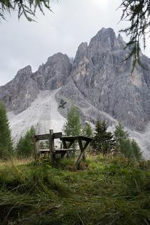Gsellknoten . Naturpark Drei Zinnen