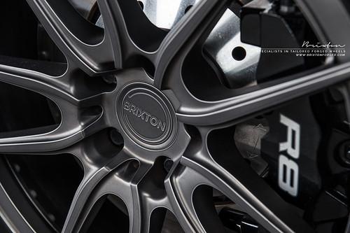 "Audi R8 V10 on 20"" Brixton Forged M53 Targa Series forged wheels"