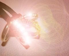 Macro Mondays - Sparkle (vegeta25) Tags: pink fuji ring sparkle rings fujifilm myfuji macromondays s3200
