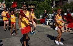 2015 Carnival Parade, Provincetown MA (Boston Runner) Tags: carnival provincetown massachusetts parade swimmers candyland lifesavers 2015 hardcandy swim4life