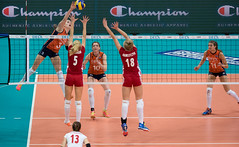 PA011080 (roel.ubels) Tags: netherlands sport rotterdam european nederland poland polen ek championships ahoy volleybal oranje ec europese 2015 cev topsport kampioenschappen
