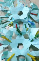 Work in progress (hyunrang) Tags: origami simple tetrahedron hur truncated